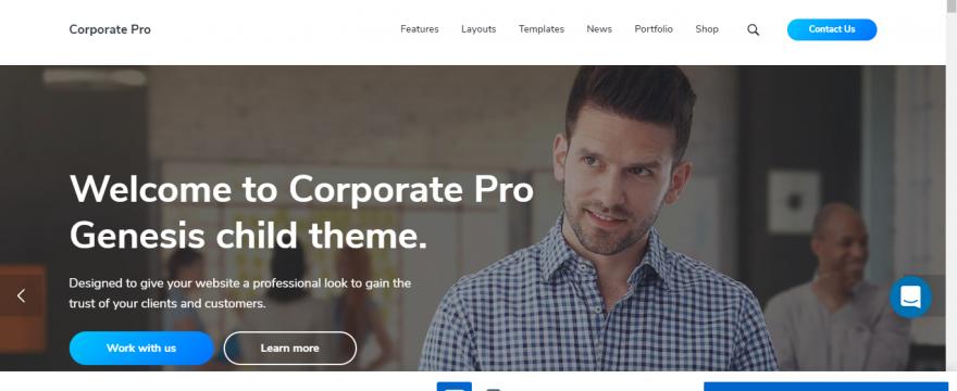como hacer una pagina corporativa en wordpress