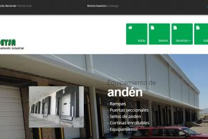 Diseño de pagina web de constructora